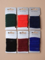 Card of 6 School coloured ponios (Code 2544)